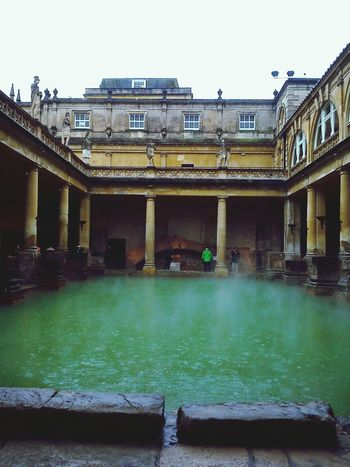 Roman baths, Bath, England Architecture Historical Building . Art History TheWorldNeedsMoreGreen