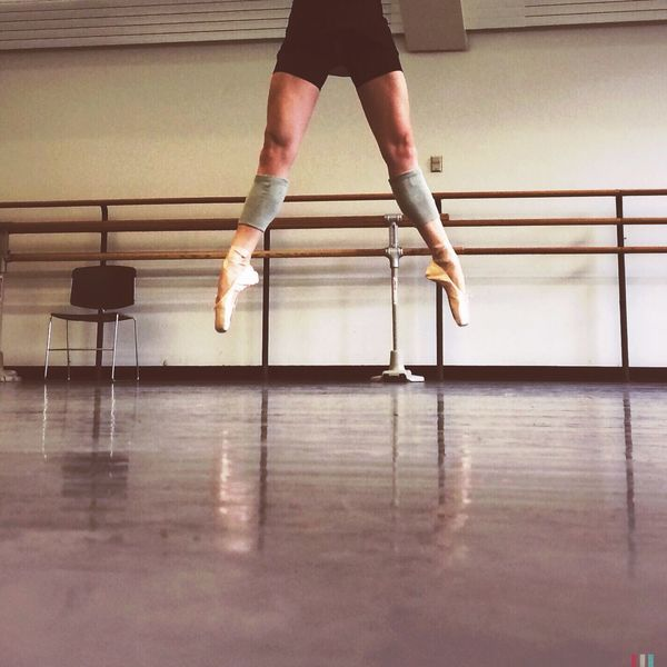 Look Up And Thrive sauté Perfecting A Routine New York City Ballet Legs Ballerina Jumping