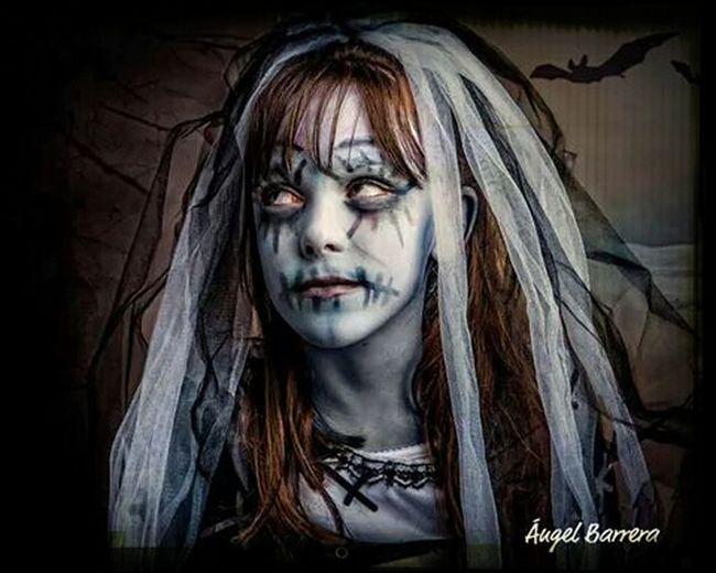 Halloween La Novia Cadaver Portrait Color Portrait