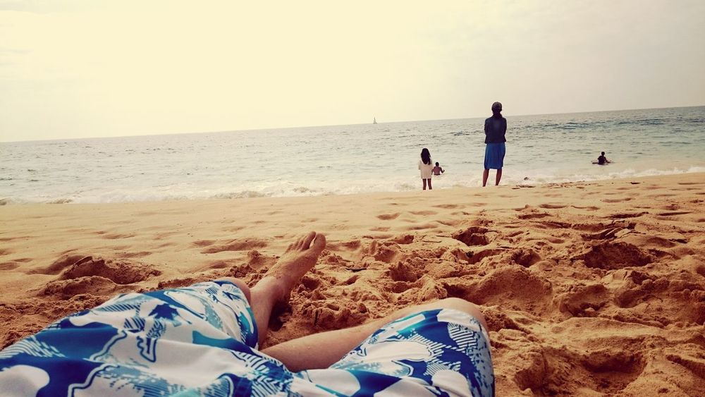 Relaxing Enjoying The Sun Being A Beach Bum Sunshine Swimming