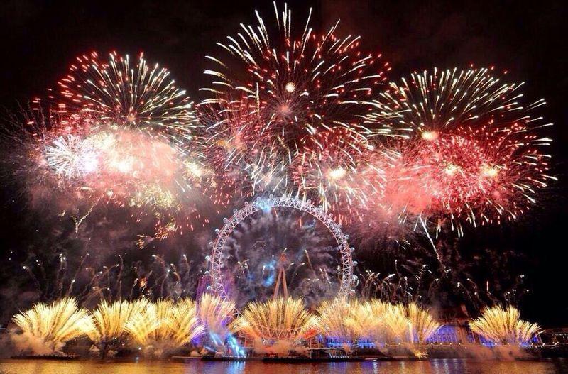 New Year 2015 @London