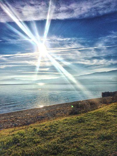 A piece of heaven. Struga Natyre  Beautiful Lake Lake View Breathtaking First Eyeem Photo