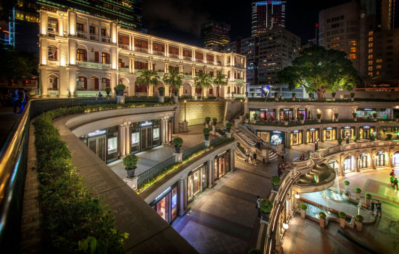 Architecture Building City Life HongKong Nightphotography
