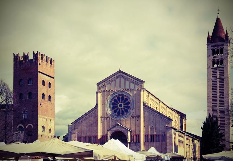 Basilica of San Zeno in Verona in Italy and the local market stalls with vintage effect Basilica Church City Lomography Market Place Of Worship S. Zeno San Zeno San Zenone Travel Verona Verona Italy Verona, Italy Building Exterior Italian Italy Lomo Religion Religious  S.zeno Saint Zeno San Zeno Veneto Veronese Zeno
