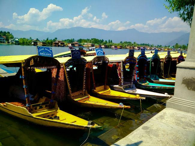 Boats And Water Lakeshore Water_collection Shikara Relaxing Moments Beautiful Kashmir Object Photography Landscape_photography Landscapes With WhiteWall