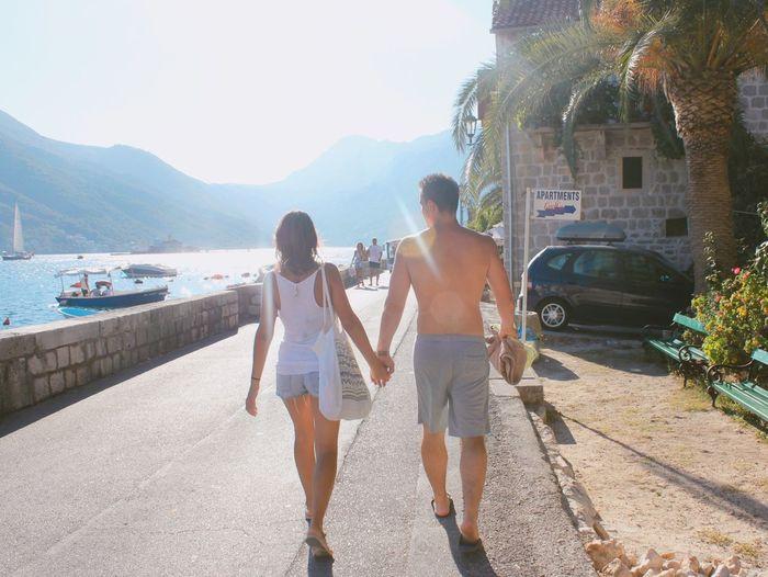 Montrnrgro Couple Sea Love