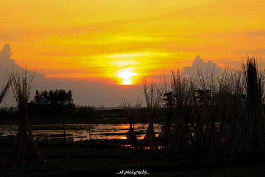 last horizon... Landsacpe Sunset Rural Scenes India