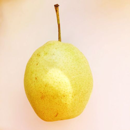 Healthy Eating Food And Drink Fruit Single Object Food Indoors  Freshness Yellow Pear