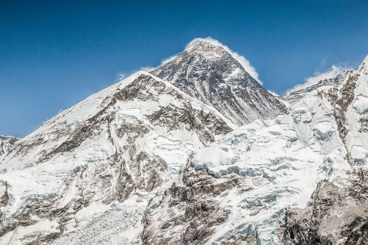 Lotse peak in Nepal Himalayas Himalaya Himalayan Range Himalayan Nepal Nepal Travel Nepal #travel Nepalese Nepali  Everest Everest Base Camp Trek Everest Region Everest Base Camp Khumbu Khumbu Himalaya Khumbu Valley Namche Bazaar Lotse Cold Temperature Snow Mountain Winter Sky Scenics - Nature Snowcapped Mountain Blue Beauty In Nature Nature Mountain Peak Tranquility Tranquil Scene Mountain Range Environment No People Landscape Day Clear Sky Outdoors Extreme Weather Formation