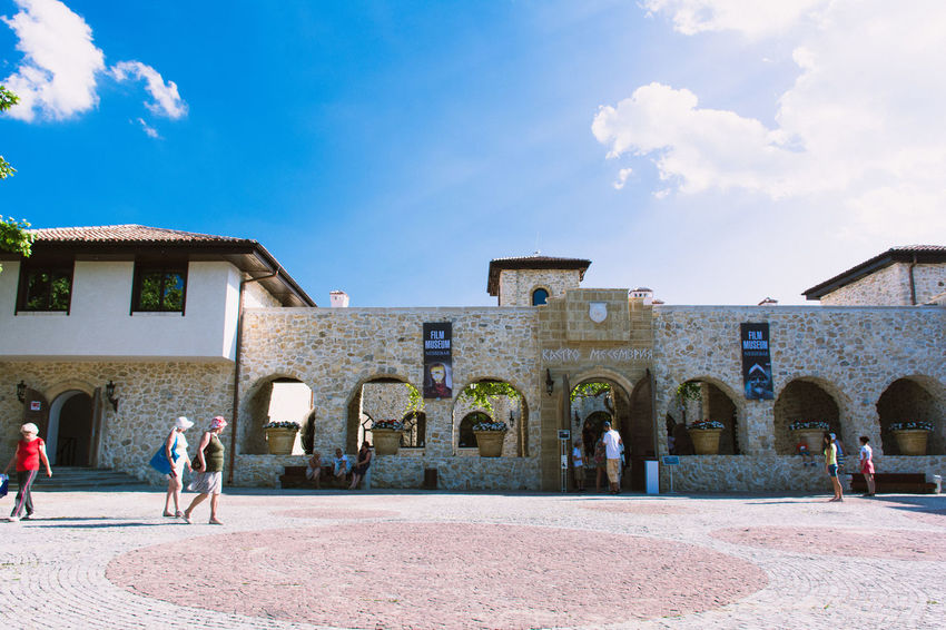 The Black Sea - Nesebar - Bulgaria Adult Architecture Building Exterior Built Structure City City Gate Cloud - Sky Day Horizontal Large Group Of People Lifestyles Men Outdoors People Person Sky Travel Destinations