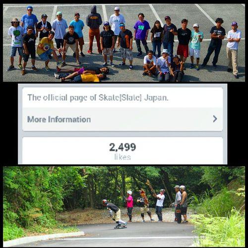 Longboarding Longskate Longboardingjapan is growing! Alloneskatefamily japan shizuoka hokkaido osaka tokyo 2500 likes!