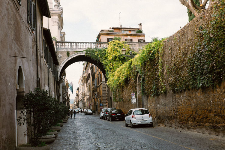 Street in Rome Rome Travel Italy Small Street Street Tourism