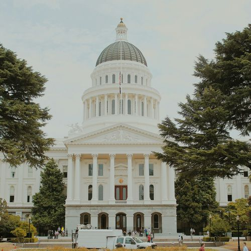 Capitol Building in Sacramento. Sacramento US Capitol Building California Government