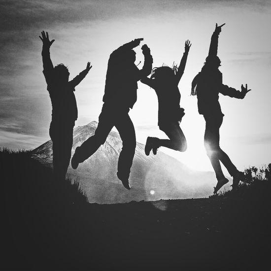 Experiencia brutal en el Teide con grandes amigos, buenas noches The Press - Treasure NEM Black&white Blackandwhite Shootermag