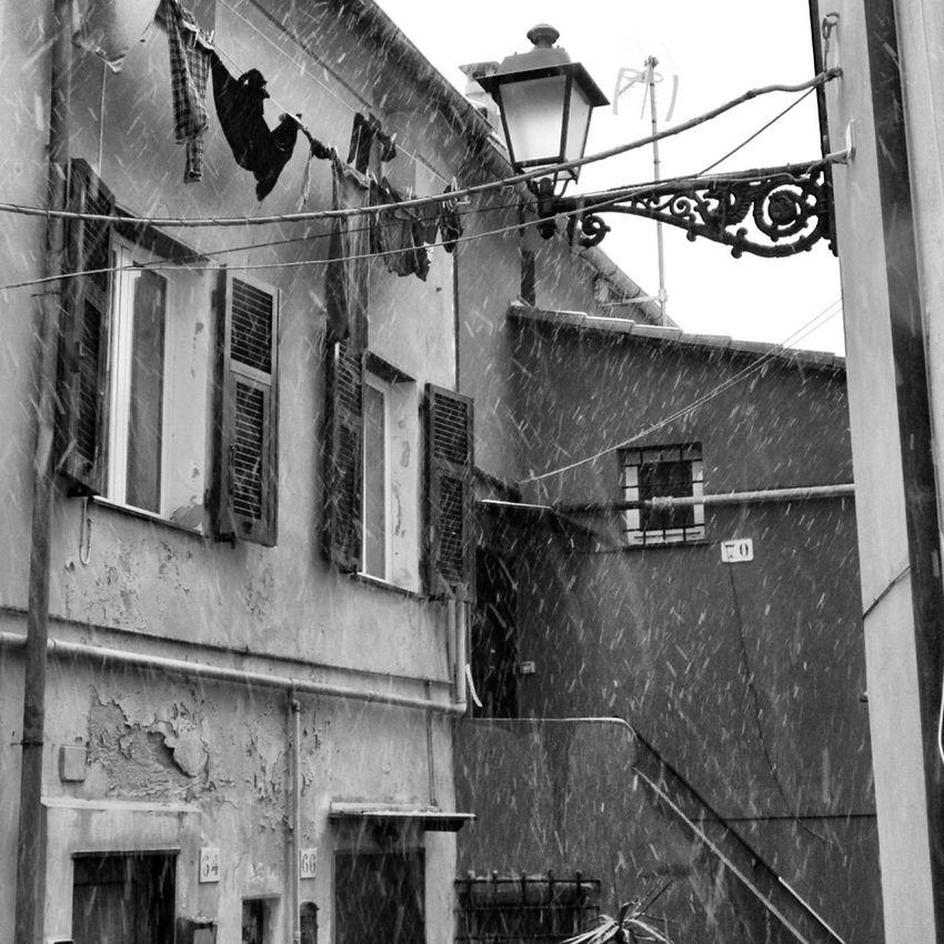 Black And White Snowing Monochrome Streetphoto_bw Bw_collection Eye4black&white
