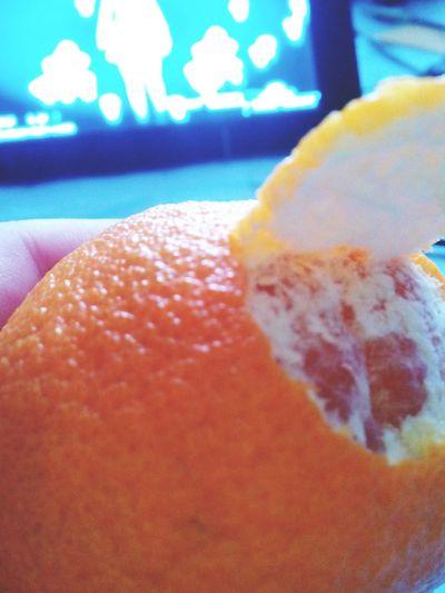Apelsinpanerad Orange mmalll eyem conTRAst