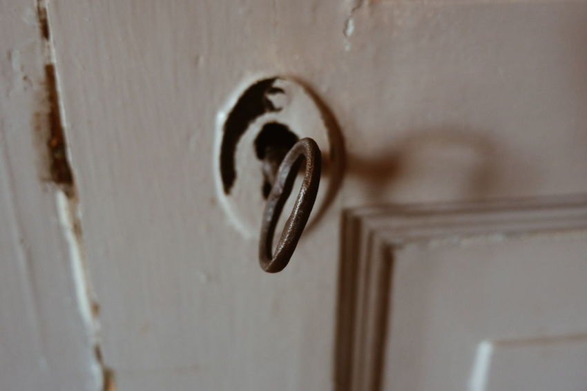 Relaxing Door Keys Close-up Security Safety No People Indoors  Day Light And Shadow