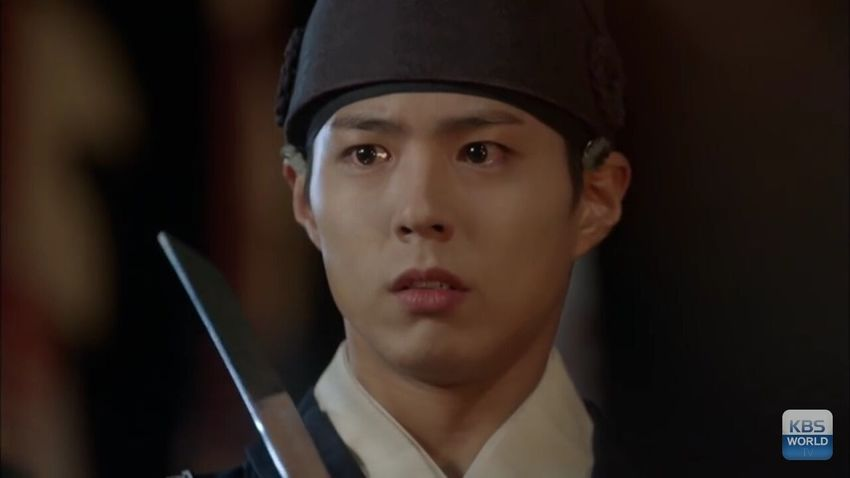 Cái mặt chã kìa 😂😂 Choha Beautiful 很可爱 사랑해 Loveyou Cute 很帅 박보검 Love In The Moonlight 😍❤️✨ Park Bo Gum Moonlight Drawn By Clouds Don't Cry Don't