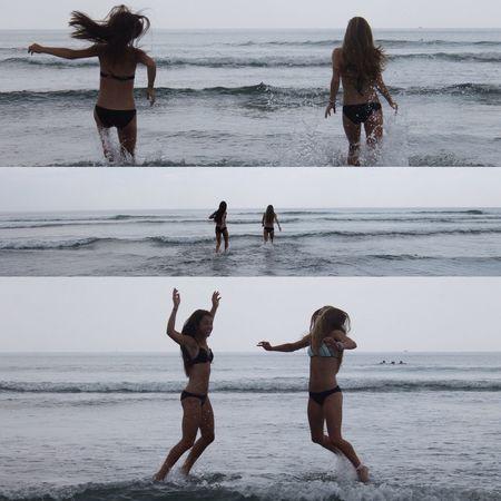 York Beach Maine Waves Beach Laughter Salty Spray Best Friends Tan Skin