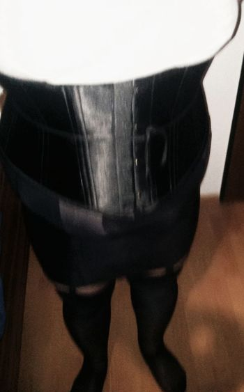 Nylon Corset Crossdresser Crossdressing Slave Sissy  Sklave Girdle Miederwaren Mieder