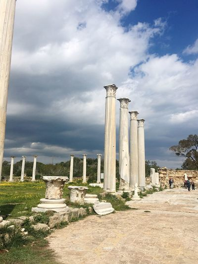 History The Past Sky Monument Architectural Column Outdoors Travel Destinations Cloud - Sky Ancient Civilization Architecture Greek Mythology Greekarchitecture No People PhonePhotography Iphone6 Architecture