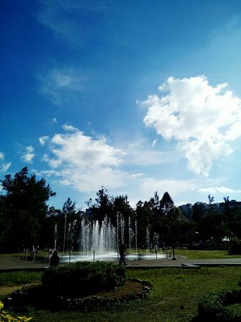 Fountain Hot Day ☀ Hot Day Outside Park Day At The Park