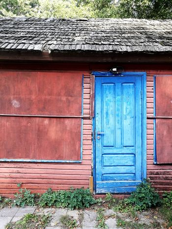 Blue Door Karklė Lithuania Visitlithuania Letsgosomewhere Enjoying Life Letstravelmore Letstravel No People Wood - Material Door House Closed Architecture Building Exterior Built Structure Entryway Closed Door Front Door Entrance Door Knocker Door Handle Locked Façade Doorway