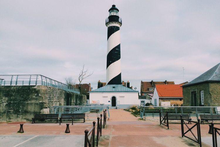Lighthouse Giant Lollipop Gravelines Beach Sea North Nord Pas De Calais La France Vraie The Architect - 2016 EyeEm Awards
