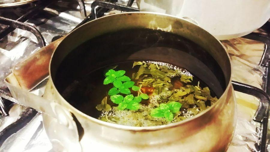 Thé à la menthe Thé à La Menthe Tea Tea Time Moroccan Tea Menthe Mentha Spicata Boisson Drinking Tea
