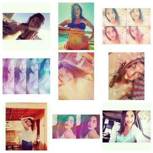 Collage Aburrida Quiero Playa