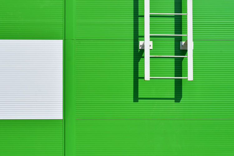 Green and White Architecture Geometry City Urban Green Minsk Belarus Green Color Building Exterior BY112_MINSK_AK BY112_BELARUS_AK
