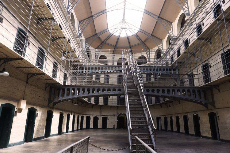 2017 Architecture Built Structure Gaol Indoors  Jail Kilmainham KilmainhamGaol Prison キルメイナム キルメイナム刑務所