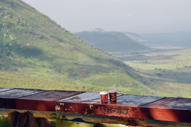 Coffee with a view, Rift Valley view point Travel Travel Photography Travel Destinations Landscape_photography Nature Mountain Landscape Outdoors Volcanic Landscape Volcanic Crater Naivasha Rift Valley Rift Valley View Point Road Trip EyeEm Best Shots EyeEm Nature Lover EyeEm Selects EyeEm Gallery EyeEmBestPics EyeEm Best Edits Eyeemphotography EyeEm Masterclass Mountain Landscape Mountain Range