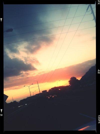 RED EYE RED SKY
