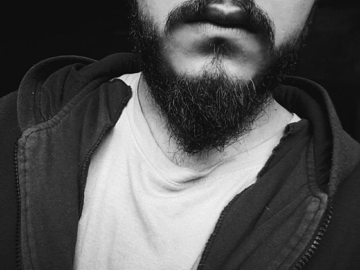 Beard Bearded Portrait Selfportrait Eyeem Collection Beardstyle Close-up Black & White Black And White Monochromatic