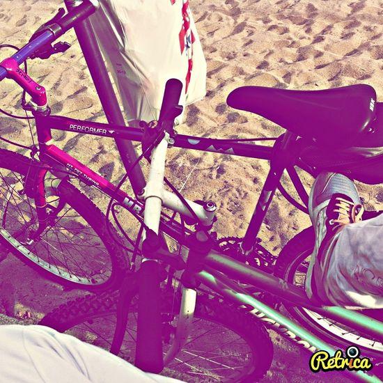 Bike Beachphotography Enjoying Life Getting Inspired