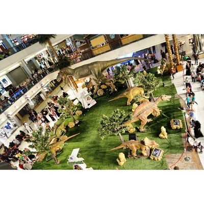 The Dinosaurs Display area at Red_sea_mall RedSea mall redseamall. jeddah saudi_arabia saudiarabia. Taken by my sonyalpha dslr A57. ديناصور ديناصورات ردسي مول جدة السعودية