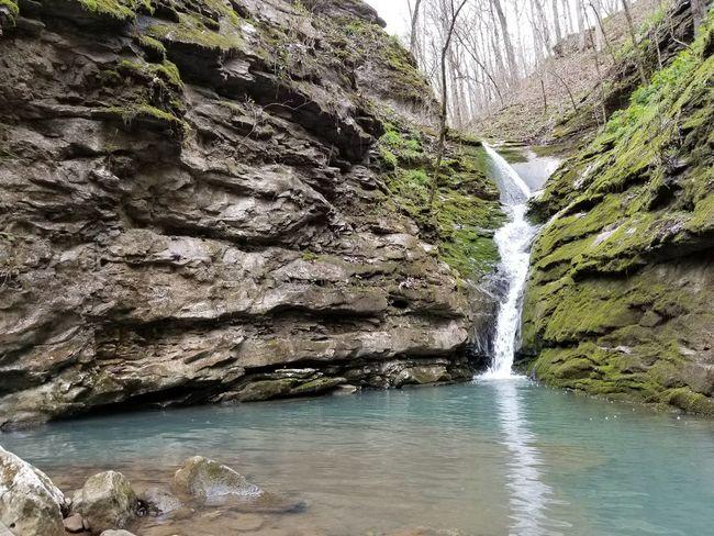 Water Tree Waterfall Rock - Object