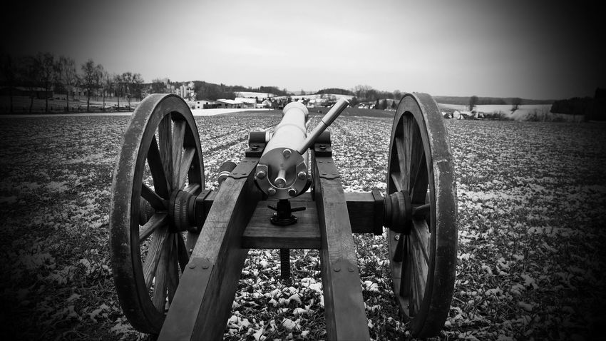 Impressions of the Barbaraschießen Aiming Architecture Barbaraschießen Battle Cannon Conflict Day Field Fighting History Land Landscape Military Nature Old Tradition Outdoors Plant Sky The Past Vignette War Weapon Wheel