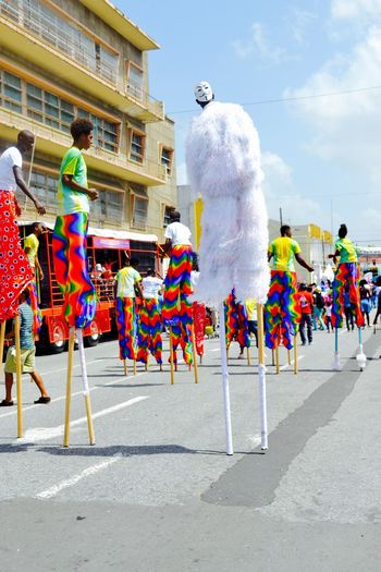 Moko Jumbies and V! Children's Carnival Colors Of Carnival Cultures Having Fun Young Adult