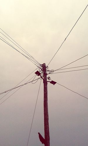 Electricity Pole in the middle of the Taxi Park in Masaka. It was Fun at Weaver Bird Art Camp Landscape central Uganda  .