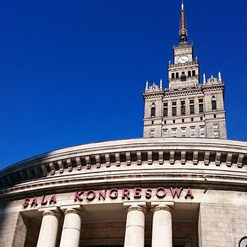 Salakongresowa Palaceofcultureandscience Contrast Warszaw Warsawa Poland Architecture Columns