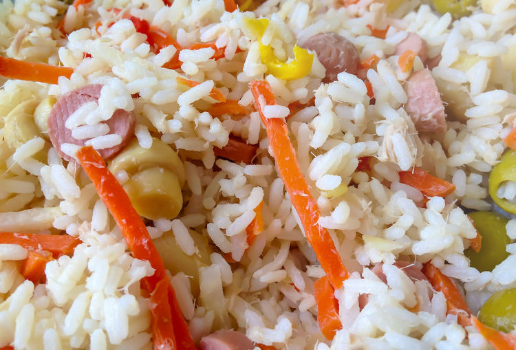 Aerial View Boiled Close-up Day Food Food And Drink Freshness Fried Rice Full Frame Healthy Healthy Eating Indoors  No People Ready-to-eat Rice Rice Rice - Food Staple Rice Salad Serving Size Tasty