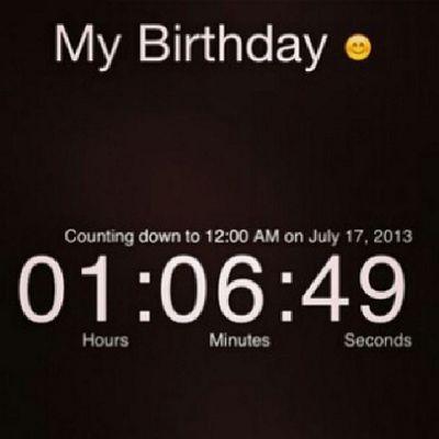 July17 Birthday <3