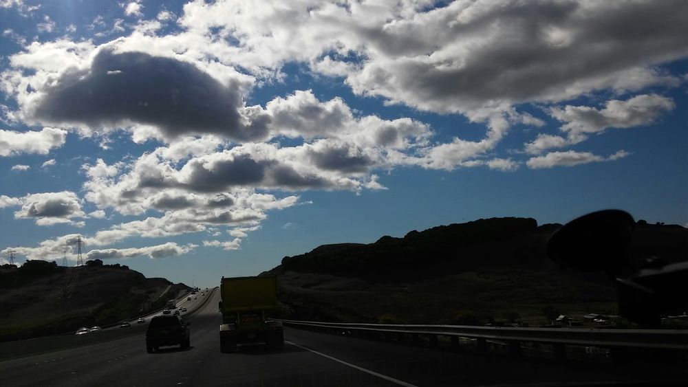 Taking Photos Hello World Enjoying Life My Daily Commute Interstate 80 Clouds And Sky Smartphonephotography Norcal Calisky California Cali Life Vallejo Enjoying Life My Cali Life No Edit/no Filter