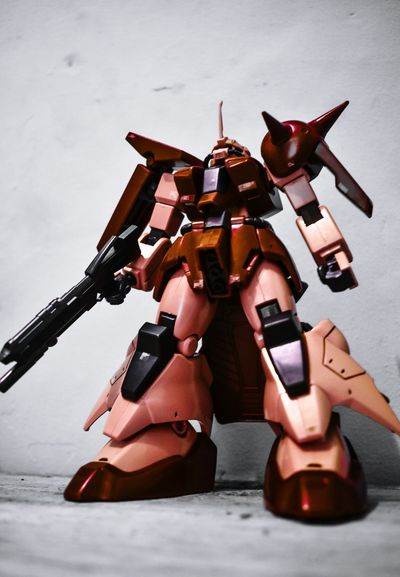 Zaku Figure Gundam Gunpla Zaku Fighter Plane Red Faded Adults Only One Man Only Only Men Adult Day Outdoors One Person EyeEmNewHere