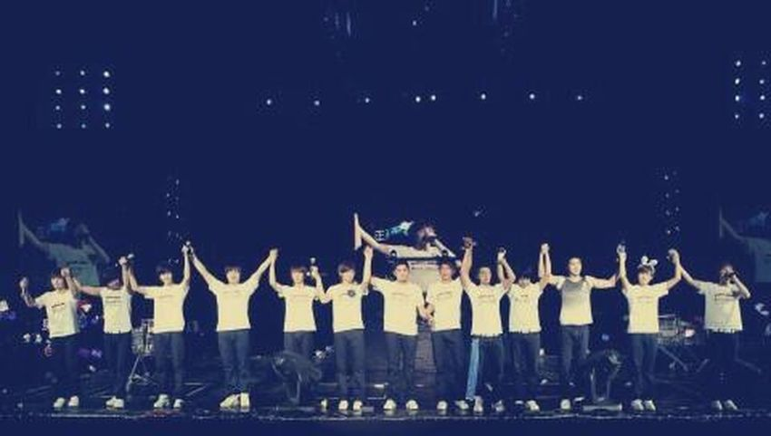 As I Lay My Love On You :) My Super Junior. My Superman.