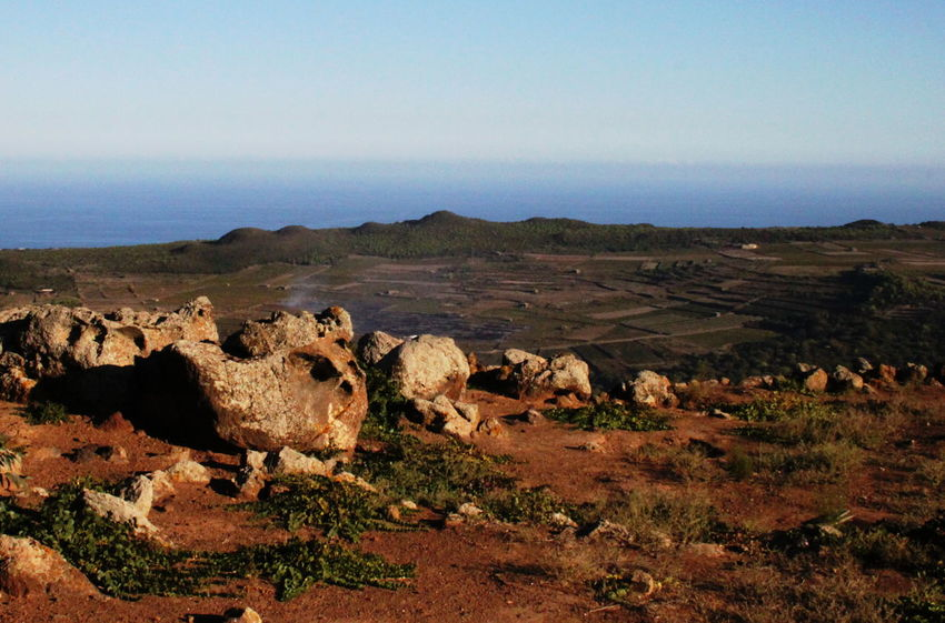 Pantelleria Beauty In Nature Day Landscape Nature No People October 2015 Outdoors Red Earth Scenics Sky Stones Tranquil Scene Tranquility Warm Light
