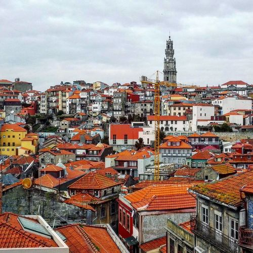 City View  City Porto Portugal Rooftops Roofs Tower EyeEmNewHere