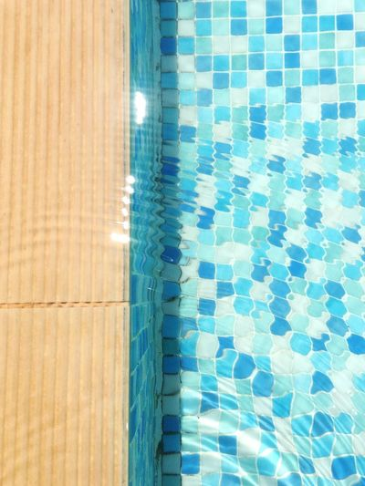 Disturbed peace Swimming Pool Tile Water High Angle View Tiled Floor Pattern No People Blue Swimming Lane Marker Your Ticket To Europe EyeEmBestEdits EyeEm Best Shots Eye4photography  Minimalism EyeEm Gallery